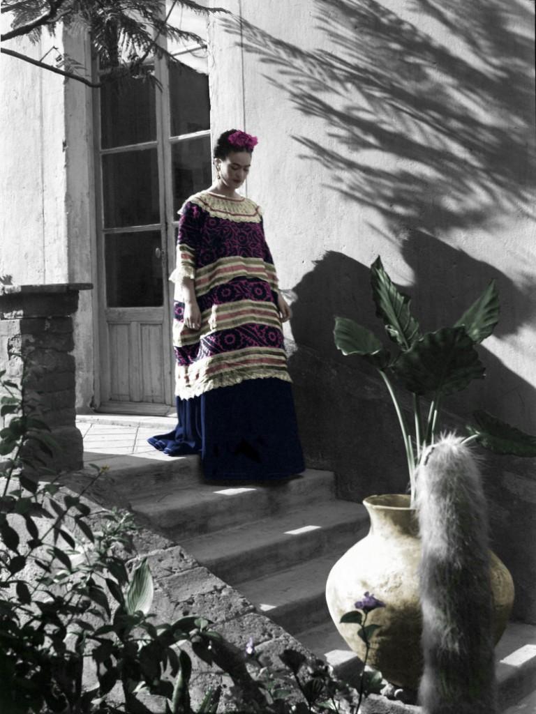 Frida Kahlo na intimidade, por Leo Matiz